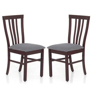 JFA Orange Dining Chair Set of 2