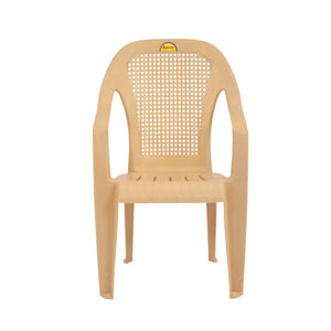 supreme regal marble beige color chair