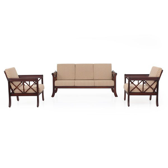 JFA Ruby Wooden Sofa 3+1+1 Set