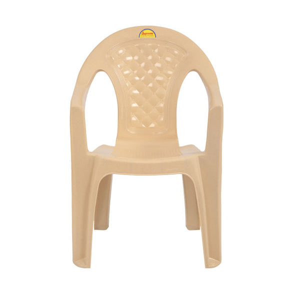 supreme spark plastic beige color chair