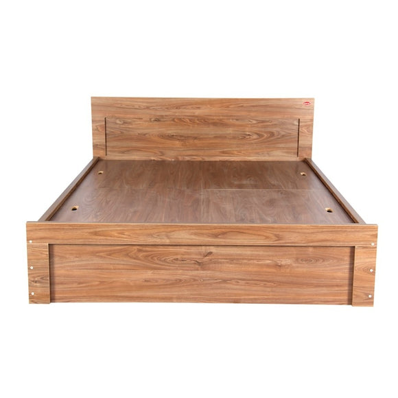 Kurlon Sturdy Cot Walnut Finish