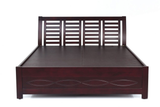 Taj Queen Size Wooden Cot