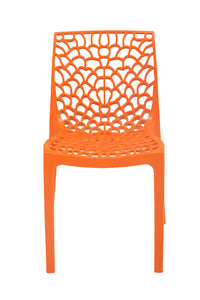 supreme web orange chair