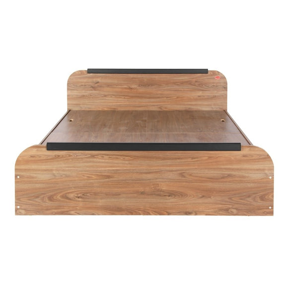 Kurlon Woodz Cot Walnut Finish