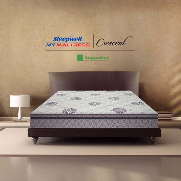 Sleepwell Crescent Support Tec Mattress