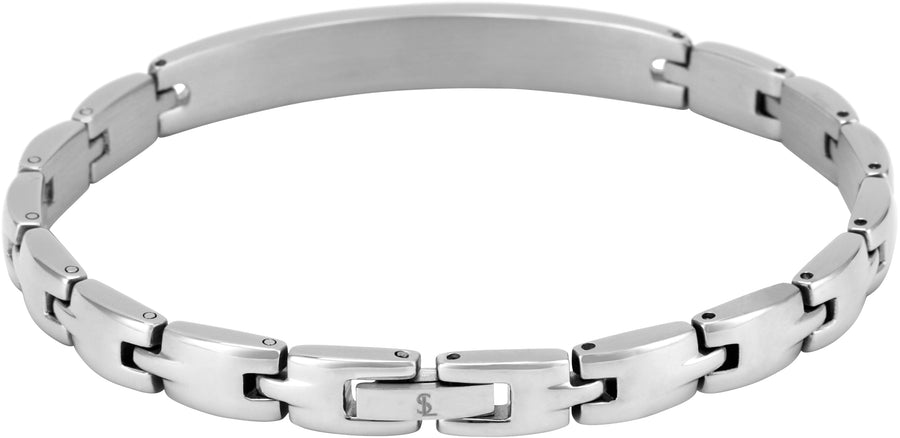 Elegant Surgical Grade Steel Medical Alert ID Bracelet - Women's / Type 1 Diabetes - Smarter LifeStyle Shop