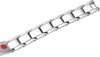 Elegant Surgical Grade Steel Medical Alert ID Bracelet - Men's / Warfarin - Smarter LifeStyle Shop
