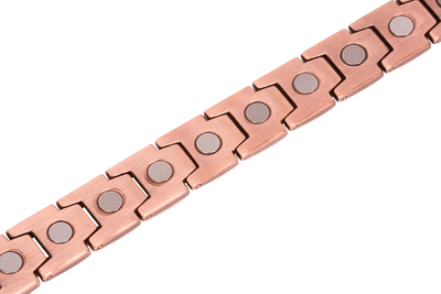 Elegant Men's Pure Copper Magnetic Therapy Bracelet - Smarter LifeStyle Shop