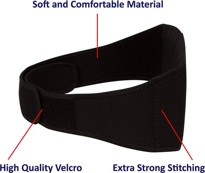 "Extra Strength Magnetic Therapy Back & Waist Support Wrap Belt, 48 High Power Magnets for Lower Back and Hip Pain Relief (Large, 50"" Length) - Smarter LifeStyle Shop"