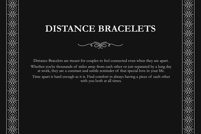 Smarter LifeStyle Elegant Couples His and Hers Distance Bracelets, Surgical Grade Steel (Single Bracelet, Hers/Women's) - Smarter LifeStyle Shop