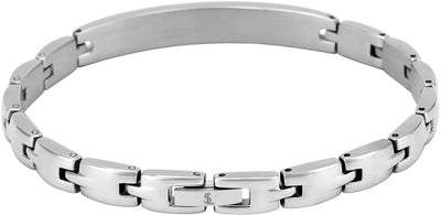 "(""Love You Mom"" - Silver) Elegant Mom & Mother Themed Surgical Grade Steel Women's Bracelet - Smarter LifeStyle Shop"