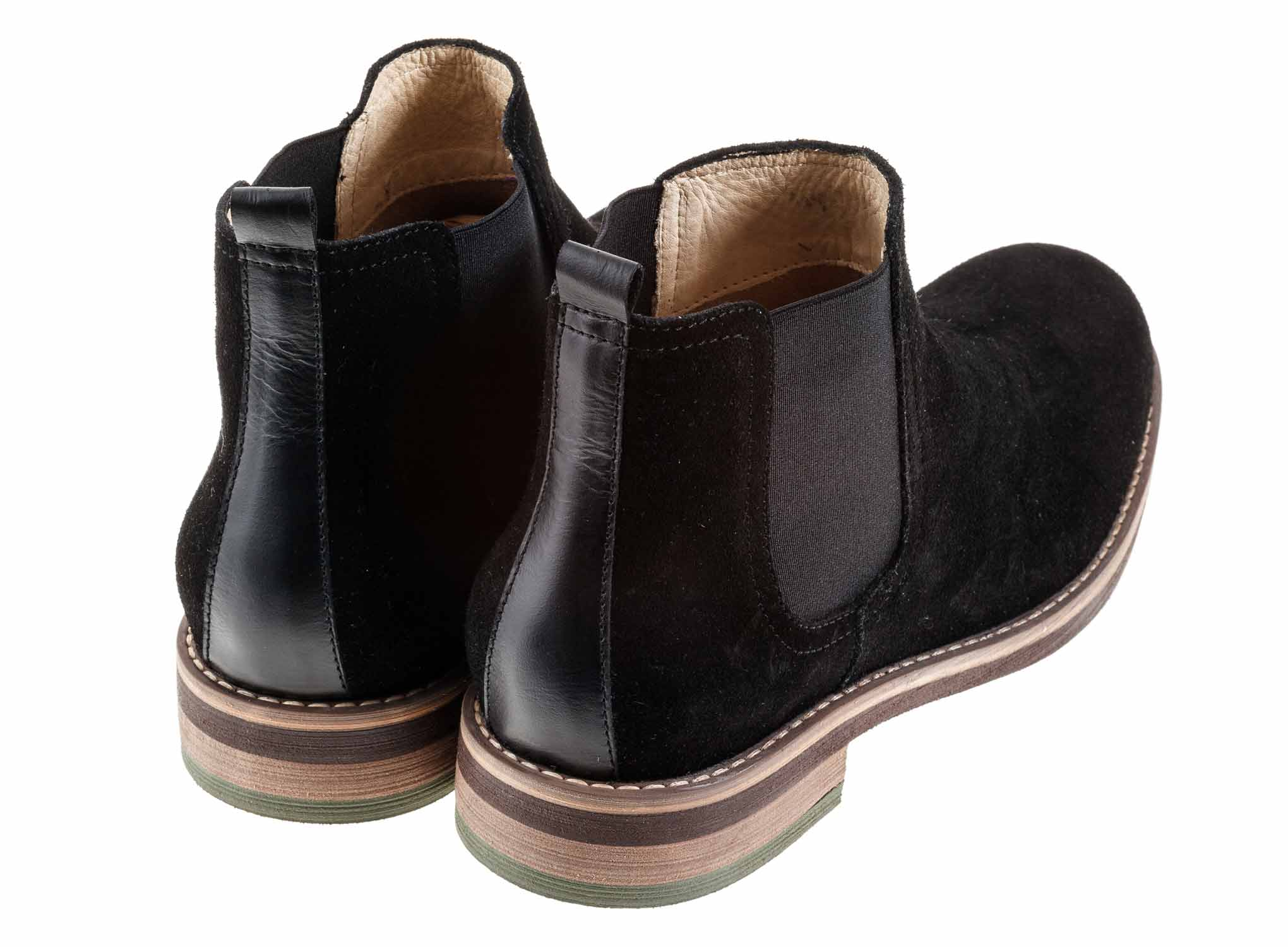 Baltic - Black - Green Bear Shoes
