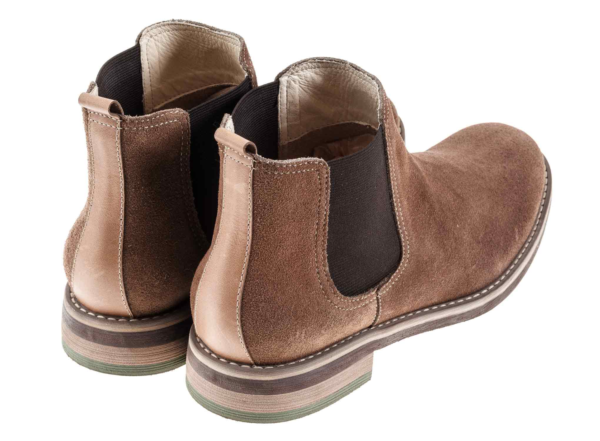 Baltic - Sand - Green Bear Shoes