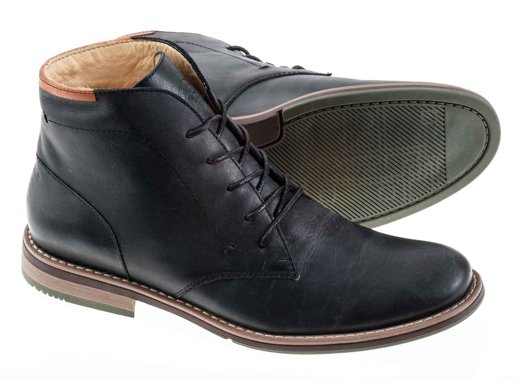 Zapato London para hombre Green Bear Negro - Green Bear Shoes