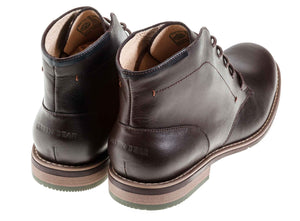 London - Brown - Green Bear Shoes