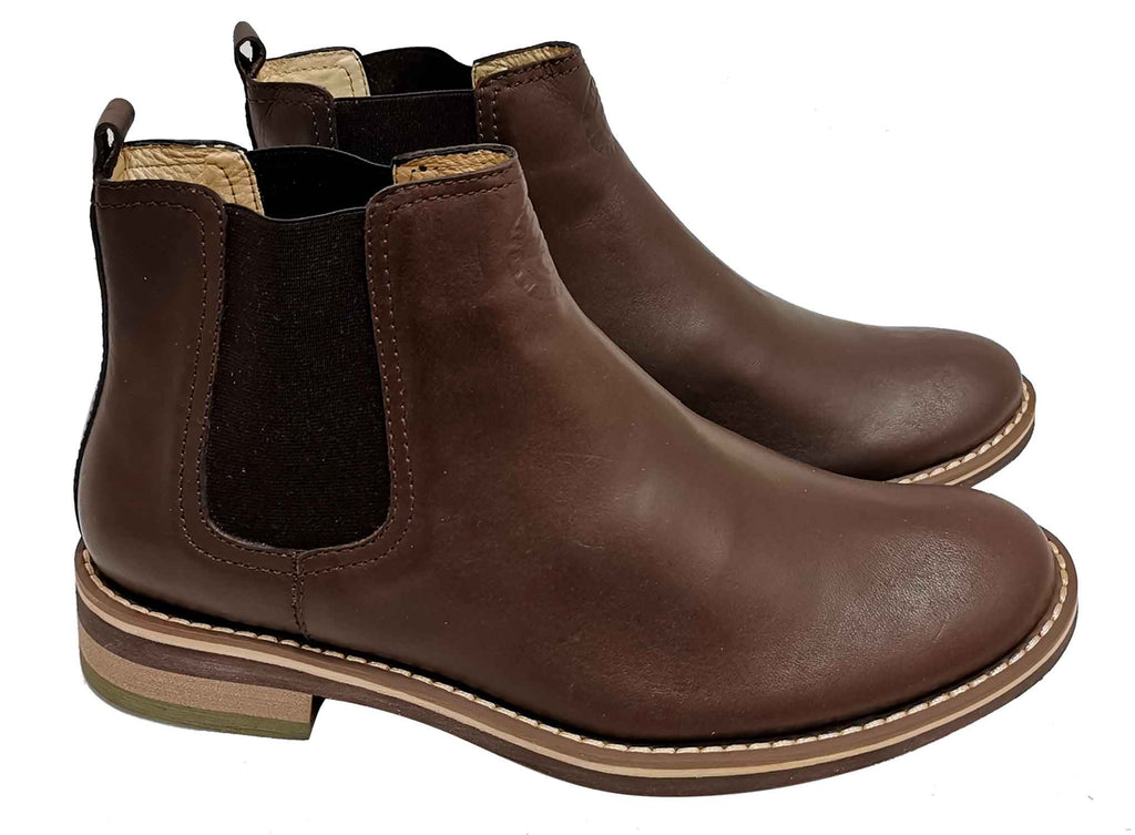 Baltic - Brown (Cuero liso) - Green Bear Shoes