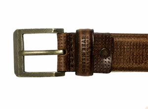 Belt Travel - Brown - Green Bear Shoes