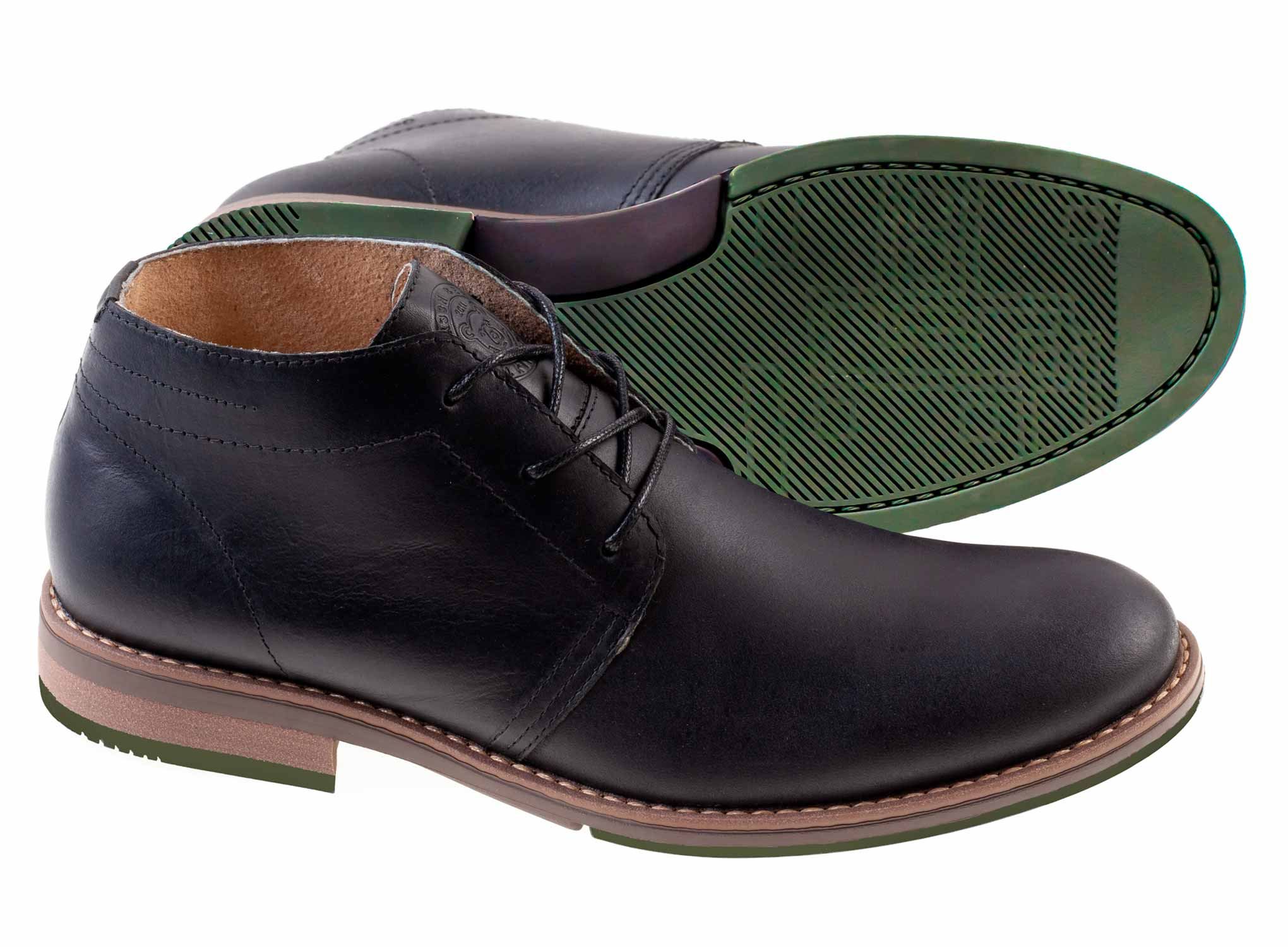 Camerun - Black - Green Bear Shoes