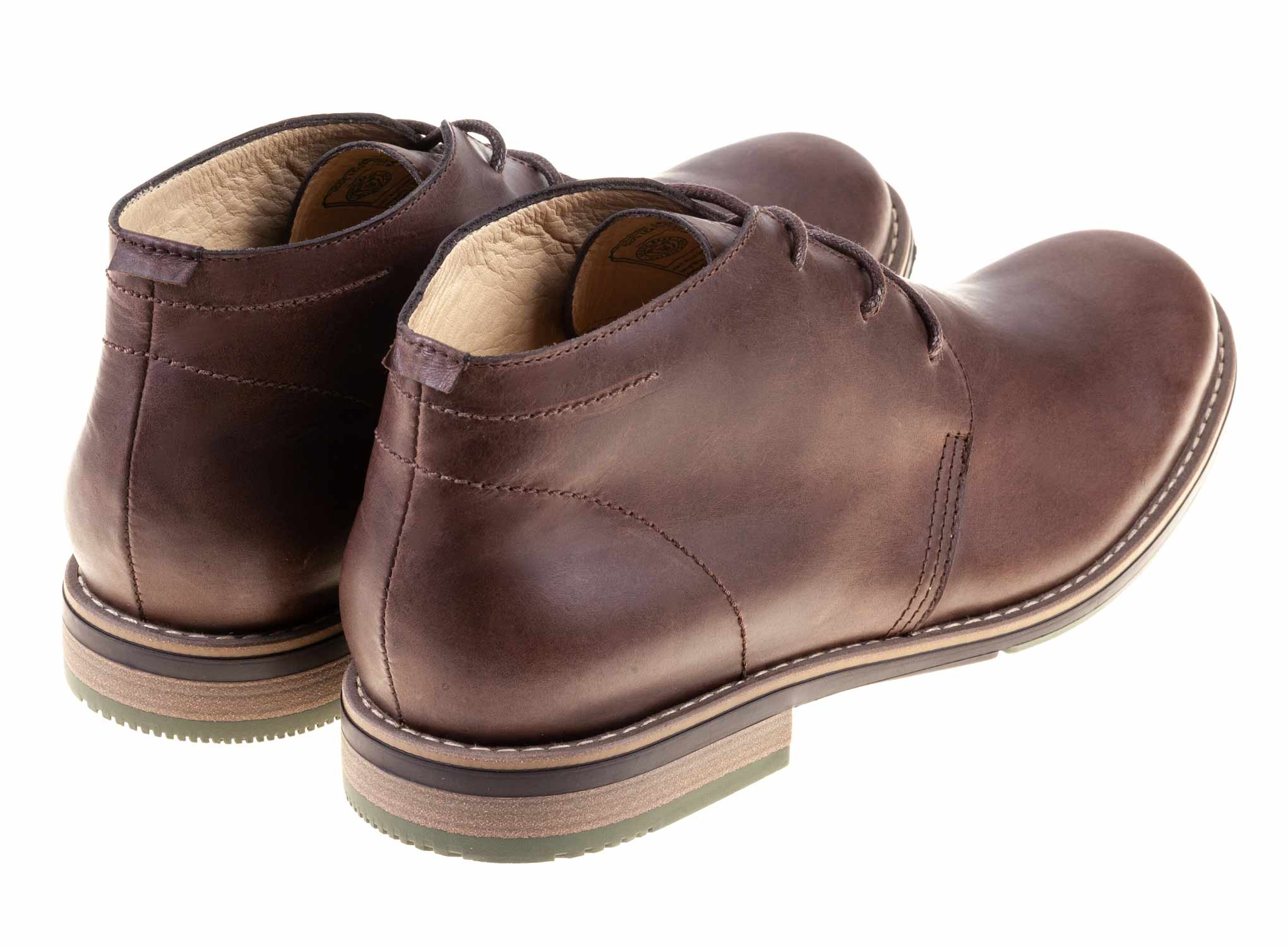 Camerun - Brown - Green Bear Shoes