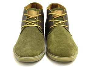 Camerun - Green / Brown - Green Bear Shoes