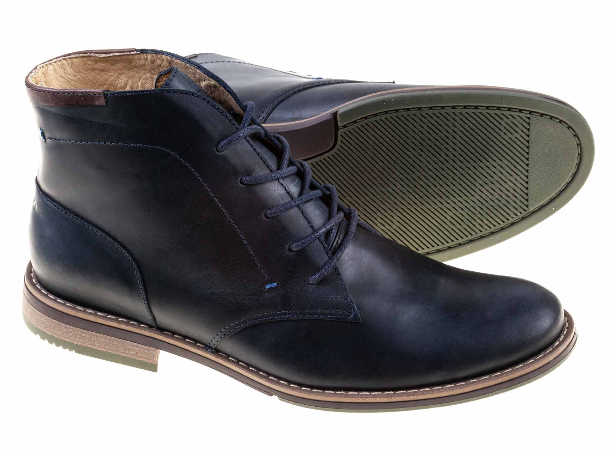 Zapato London para hombre Green Bear Azul - Green Bear Shoes