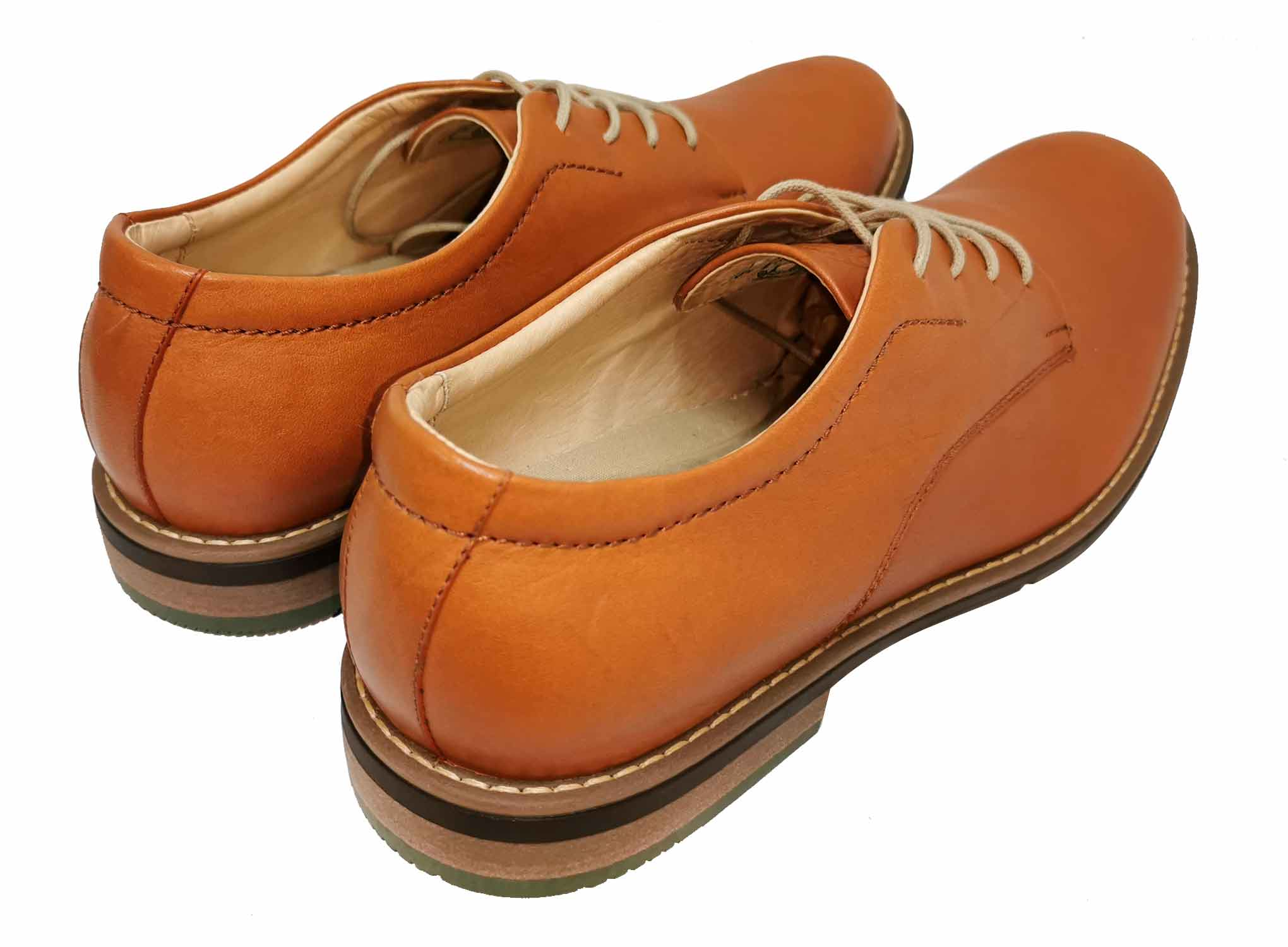 New Classic - Light Brown - Green Bear Shoes