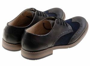 Zapato Oxford para hombre Green Bear Azul - Green Bear Shoes