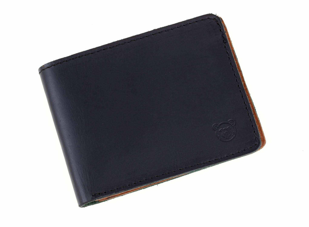 Wallet Formal - Black / Light Brown - Green Bear Colombia
