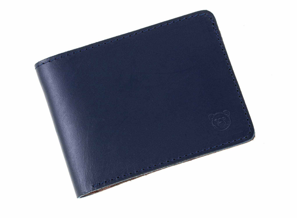Wallet Formal - Blue / Brown - Green Bear Colombia