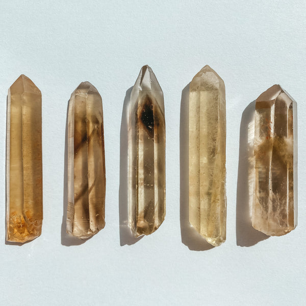 Citrine - pointe naturelle