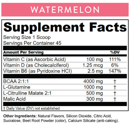 Watermelon Nutritional Information