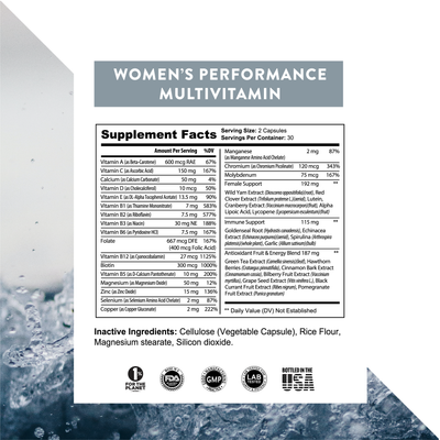 Women's Performance Multivitamin