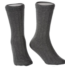Load image into Gallery viewer, Children's Ribbed Crew Dress Socks in 6 Colors and Variety of Sizes