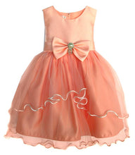 Load image into Gallery viewer, Girls Bridal Pink Tulle Dress Available in Newborn-Youth Sizes - The Christening Cottage