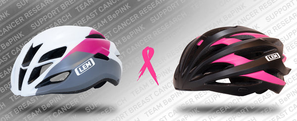 LEM Helmets Supports Breast Cancer Research With Launch Of Two Limited Edition Cycling Helmets