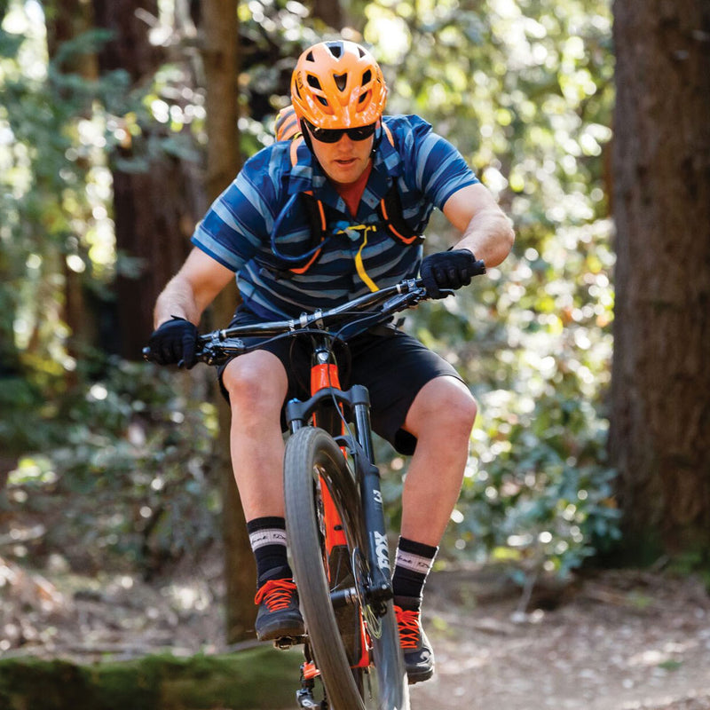 Flow Mountain Biking Helmet Orange