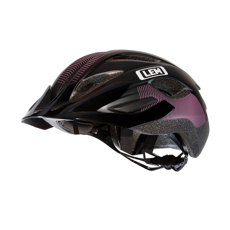 Boulevard Commuter Bike Helmet  Black Purple