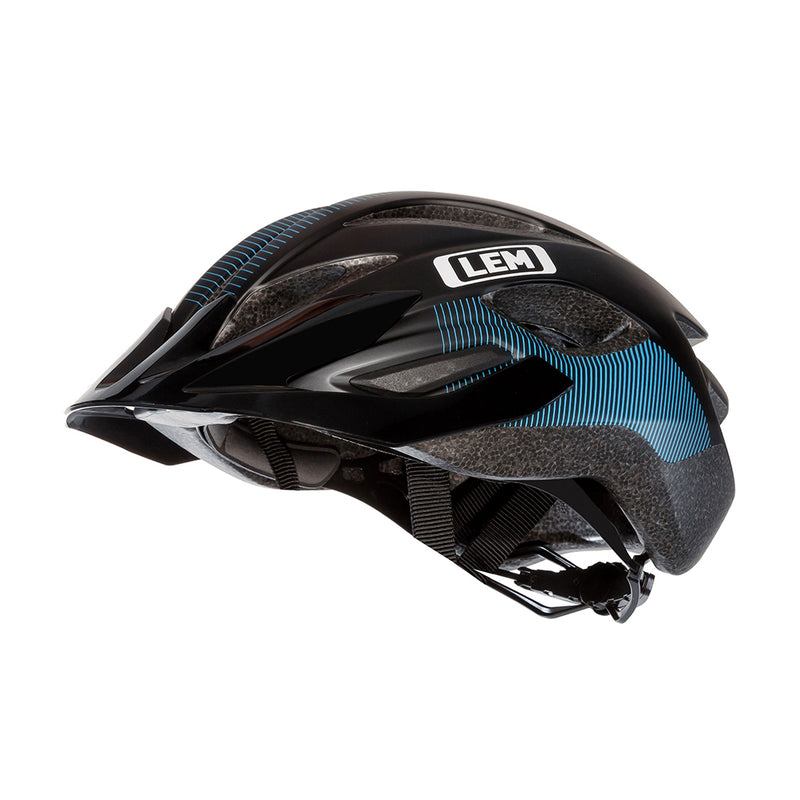 Boulevard Commuter Bike Helmet Black Blue