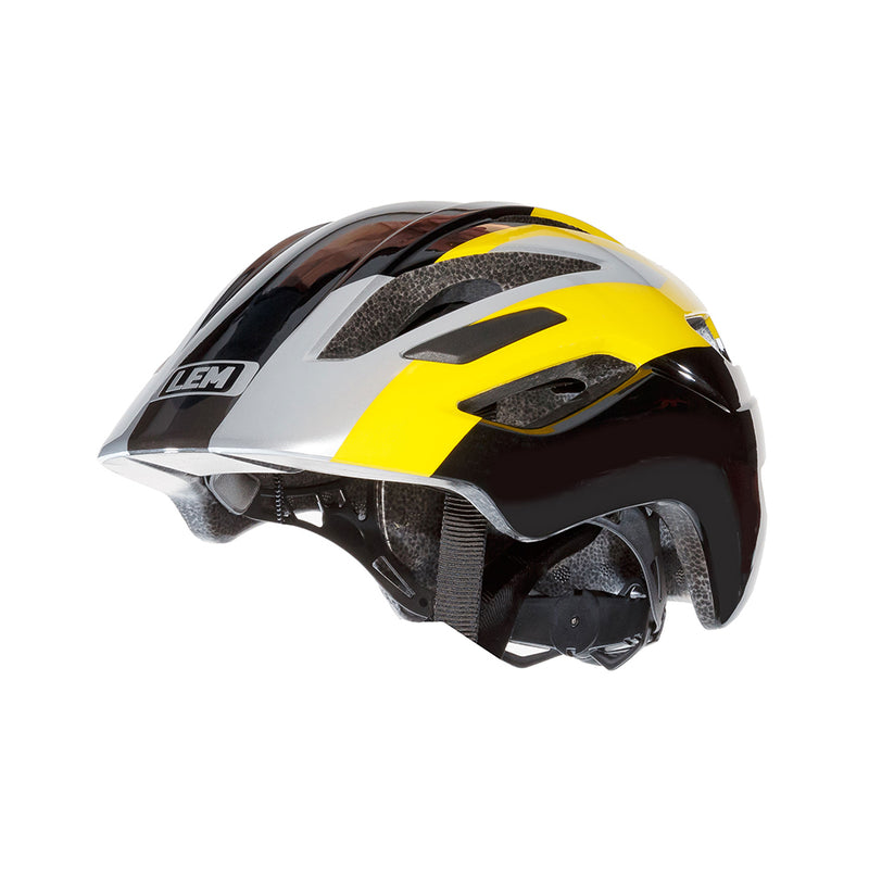 Scout Kids Bike Helmet Yellow Black
