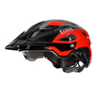 Flow Mountain Bike Helmet Black Red