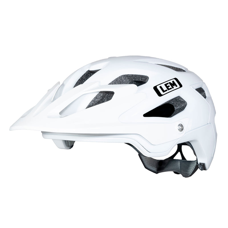 Flow Mountain Bike Helmet White