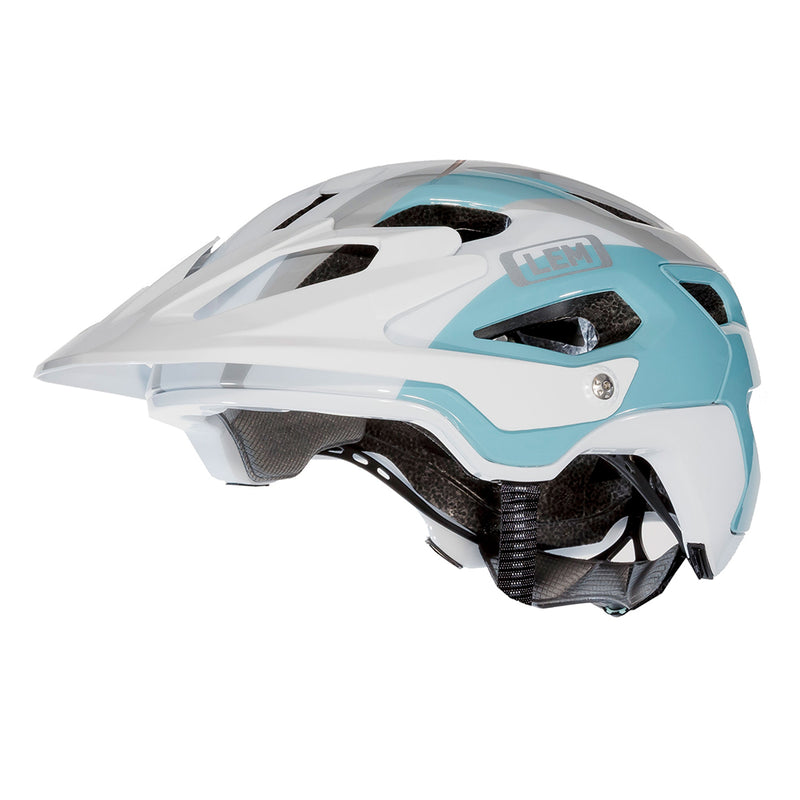 Flow Mountain Bike Helmet White Blue