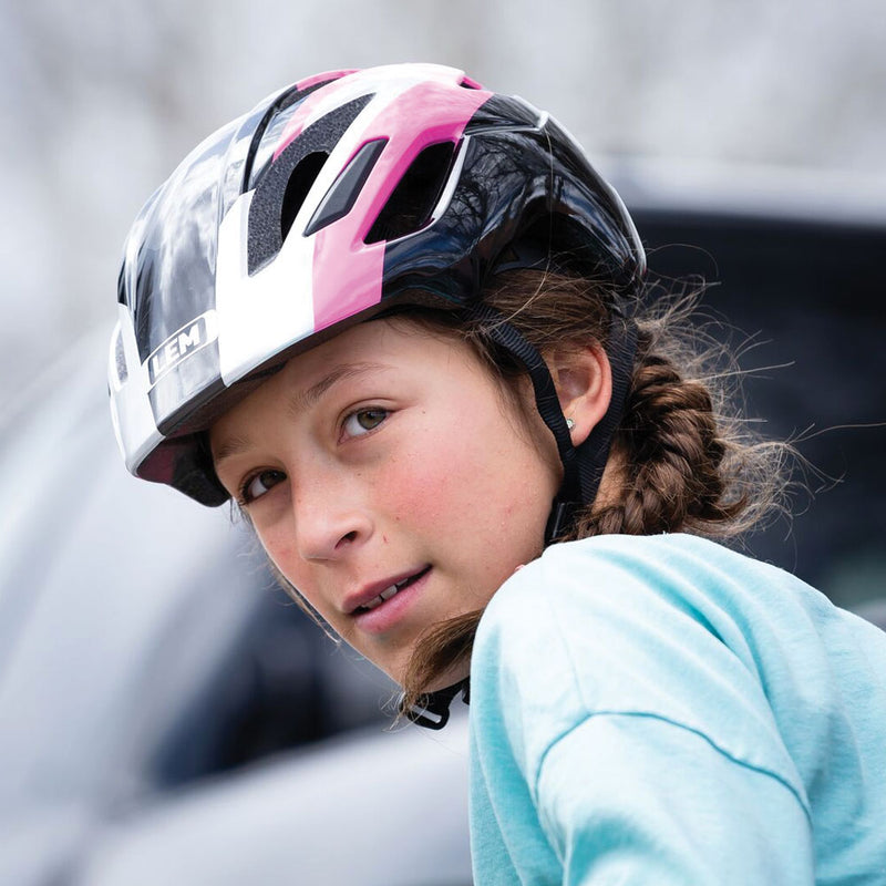 Scout Kid Ridding Bike Helmet Black and Pink