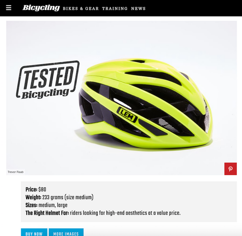 Tailwind Road Bike Helmet