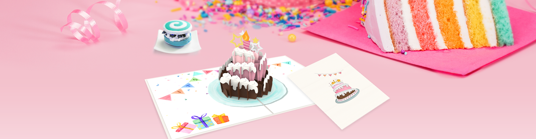 How to make yourself happy with a pop up card?
