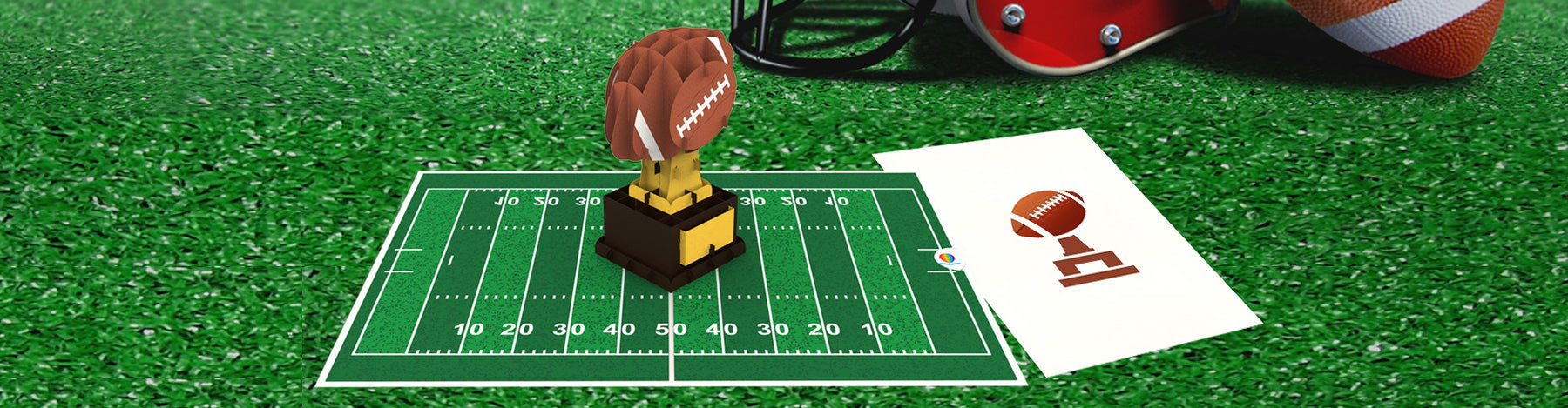 CP023 American Football pop up card for boyfriend