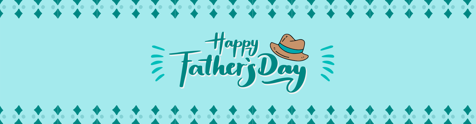 happy father day pop up card for dad banner