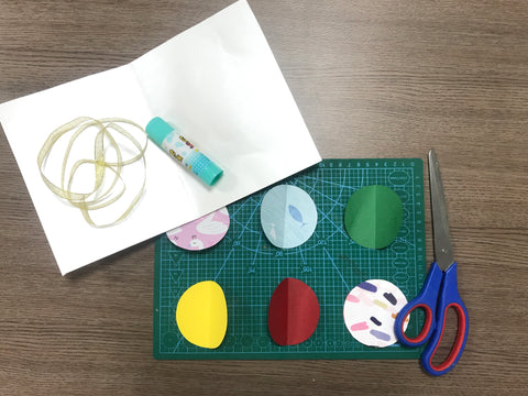 Christmas pop up card tutorial step 1