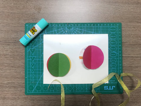 Christmas pop up card tutorial step 3