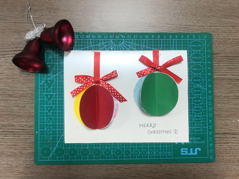 Christmas pop up card tutorial step 4